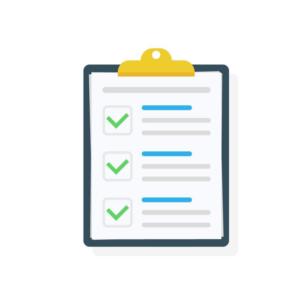 checklist [Converted]